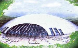 Ski-Trac snow dome