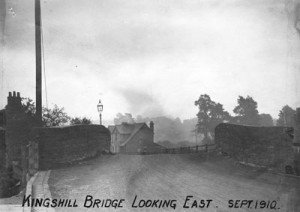 Kingshill Bridge looking east in 1910