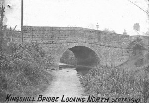 Kingshill Bridge looking north in 1910