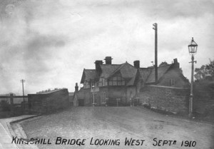 Kingshill Bridge looking west in 1910