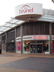 Corner of Brunel Centre